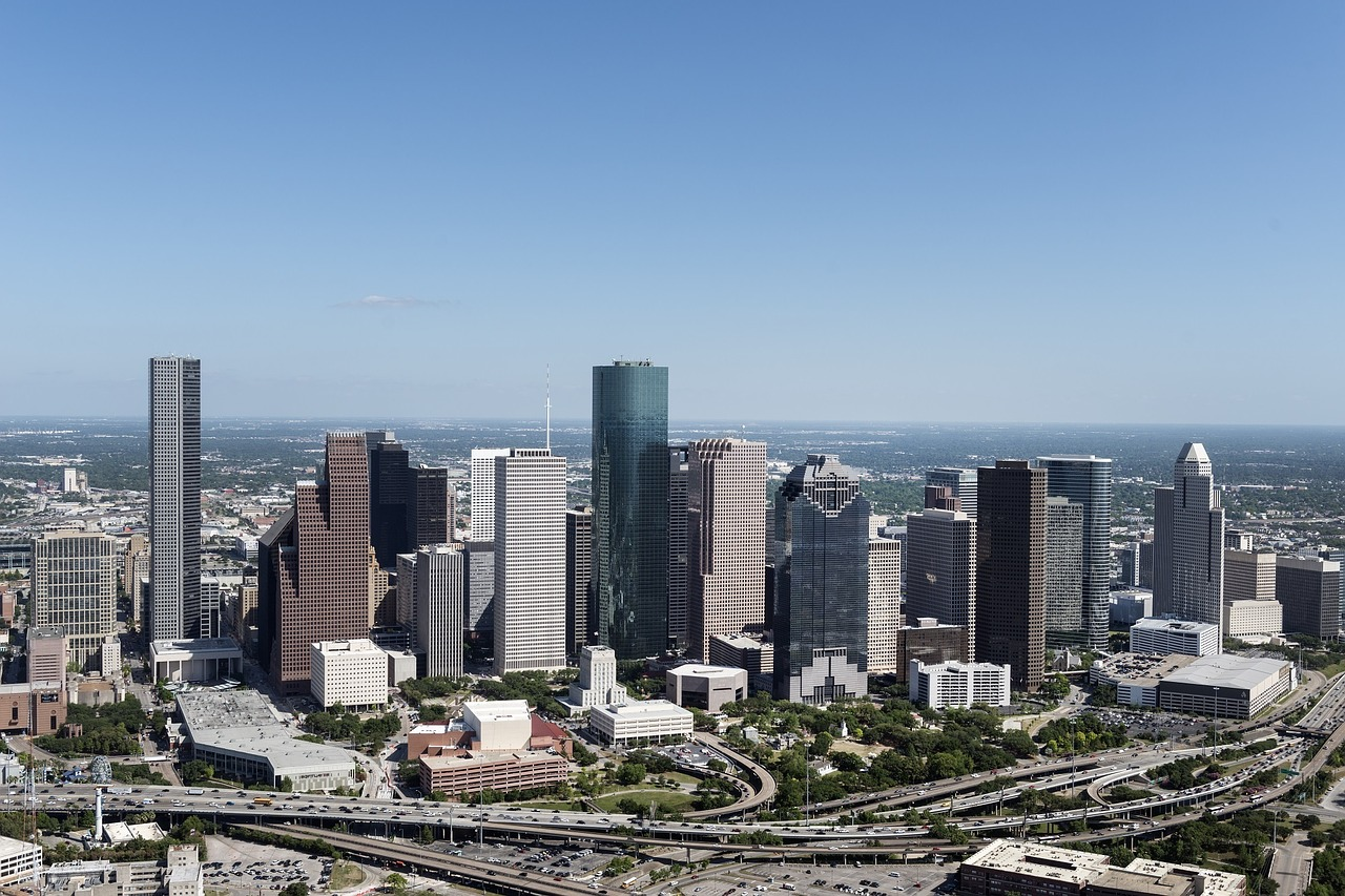 aerial-view-houston-skyline-1087751_1280