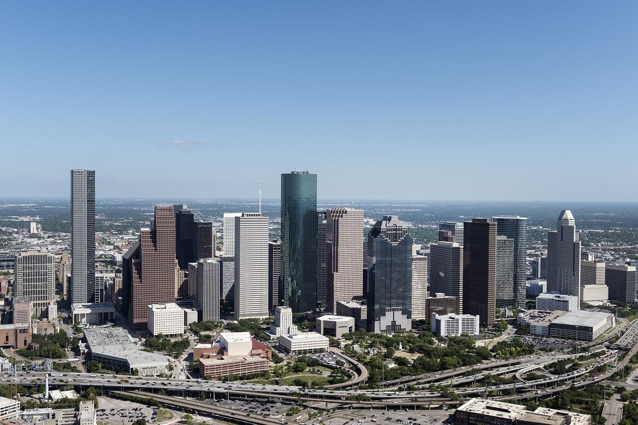 aerial-view-houston-skyline-1087751_1280
